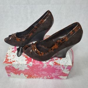 NWT Peek Toe Heel-New